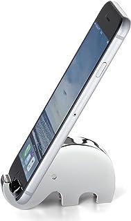 PHILIPPI 斐利比 创意金属小象手机座银色273033