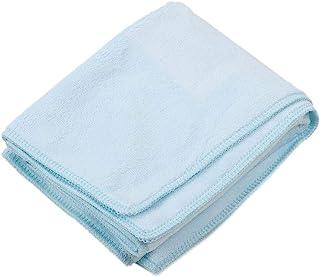 GLOGLOW 水族箱清洁毛巾,超细纤维鱼缸水族馆擦拭毛巾玻璃清洁工具强力吸水蓝色(35 x 75 厘米)