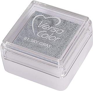 Rayher 28395556 印台 Versacolor,雾灰色,印章面积2.5x2.5厘米