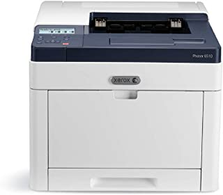Xerox Phaser 6510v_DN 彩色打印机,A4,28ppm,双面,USB/以太网,250 页纸托盘6510V_DN Printer with setup toner