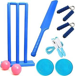 金属龙 77 重型塑料板球套装包括 1 个球棒 2 个球棒 1 个底座 3 个球棒 适用于室内和室外海滩游戏