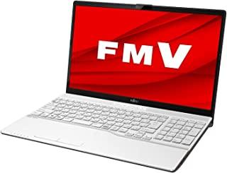 富士通 笔记本电脑 FMV LIFEBOOK(Win 10/15.6型/Core i3/4GB/1TB HDD/DVD/无Office)AH系列 AZ_WA3E2_Z010 高级白色