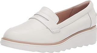 Clarks Sharon Ranch Penny 女士皮革乐福鞋