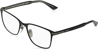 GUCCI 古驰 眼镜 伊达眼镜 0070O 001 国际适用 男士 0070O-001 EU 58,15,145 (Free 尺寸) [平行进口商品]
