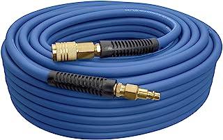 """Estwing E14100PVCR 1/4"""" x 100' PVC /橡胶混合空气软管,带黄铜配件"""