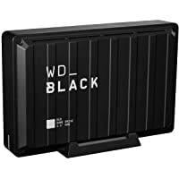 Western Digital D10 台式游戏驱动器 兼容PS4/Xbox One/PC/Mac 黑色 8TB
