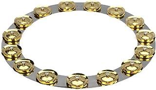 Latin Percussion 14 英寸(约 35.6 厘米)坦博环 - 不锈钢带黄铜叮当