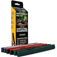 Work Sharp WSSA0002012 刀,工具磨刀器更换皮带套件(WSKTS & WSKTS-KT)