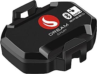 SKARLIE 自行车电脑速度传感器 适用于旋转自行车速度计 里程表 蓝牙 ANT+ 兼容 Wahoo Garmin Strava APP