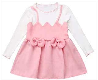 micia luxury 蝴蝶结粉色连衣裙 幼儿 儿童 女孩 12M