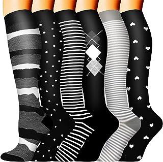 女式和男士压力袜 - *佳*,适合跑步、运动、*、旅游