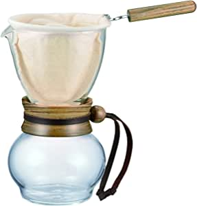 HARIO 好璃奥 咖啡壶 法兰绒咖啡壶套装 手冲滴滤式 小号 240ml DPW-1