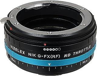 Fotodiox Pro ND 节流阀兼容尼康 F 镜头,适用于富士尼菲尔 X 型摄像机