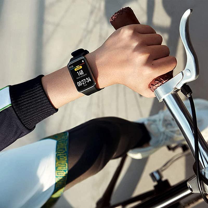 Huawei 华为 Watch Fit 智能手表(心率测量/GPS/5ATM级防水)镇店之宝¥519.49 天猫¥949