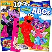 Sesame Street 儿童活动套装包括单独*的 GWW 贴纸和书签(艾蒙着色书套装)