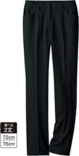 Cecile 裤子 前开裤 办公服 可调节松紧 可机洗 女士 AR-598 黑色 58-8776