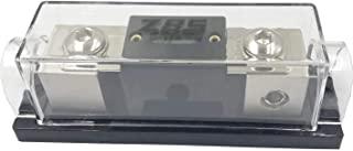 ZBSJAKU 1/0GA or 4 Gauge AWG in-Line ANL Fuse Holder Square ANL Fuse Holders with 300 Amp Fuse 1PACK