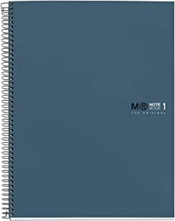 MIQUELRIUS – *毒笔记本 – 硬质封面*超硬纸板,A5,80张方形纸,90克,2个钻头,海洋颜色