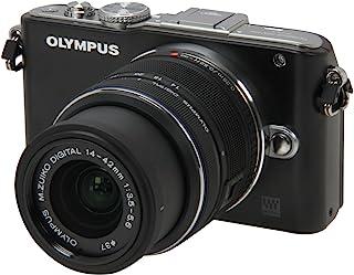 Olympus E-PL3 14-42mm 12.3 MP 数码相机,带 CMOS 传感器和 3x 光学变焦E-PL3_ 黑色