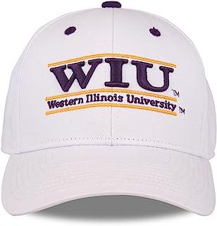 西部伊利诺伊 leathernecks 成人游戏杆可调节帽子–白色,
