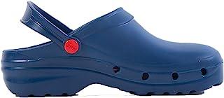 REPOSA Light One 卫生鞋,网眼Eva材料,封闭鞋面材料,侧孔,符合人体结构的鞋底,折叠带,防滑 SRC 鞋底,超轻