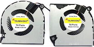 TXLIMINHONG 全新兼容 CPU+GPU 散热风扇,适用于宏碁 Nitro 5 AN515-54 AN515-54-51M5 AN515-54-599H AN515-5695 AN517-51 宏碁 Nitro 7 AN715-51 A...