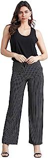 Jostar 女式 OTM 条纹直筒裤