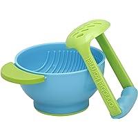 NUK freshfoods婴儿辅食研磨碗 食物手动研磨器