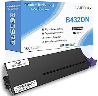兼容硒鼓 B412 B432 B512 MB492 MB472 MB562 超高容量 12000 页 适用于 OKI B412dn B512dn MB492dn MB472w MB562dnw 激光打印机