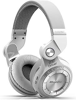 Bluedio T2s Turbine Bluetooth Wireless Stereo Headphones with Microphone, 57mm Drivers, 195° Rotary Folding