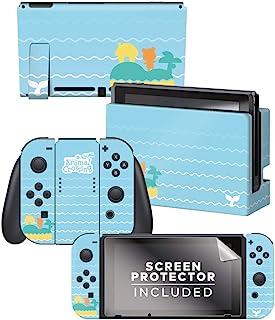 Controller Gear 正品官方*的动物交叉游戏:新地平线 - 鲸鱼故事 Nintendo Switch 皮肤套装 - Nintendo Switch