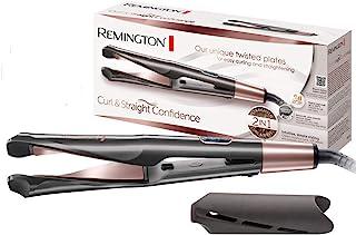 Remington 卷发&直发吹风机 3 个造型喷嘴:锥形 & 卷发造型喷嘴 扩散器 & 45 毫米圆形刷用于平滑 灰色