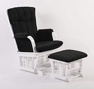 Artiva USA AF20203-BRW 家庭豪华超细纤维白色木质滑梯和横凳套装,深棕色