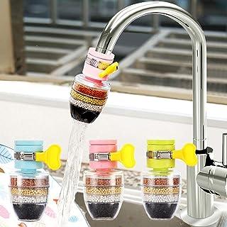 CHDHALTD 水龙头滤水器,迷你厨房水龙头水龙头,厨房龙头滤水器带过滤滤芯,净水器家居配件,净水器滤芯