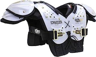 Schutt Sports DS Flex 2.0 通用青年足球肩垫,白色/金色