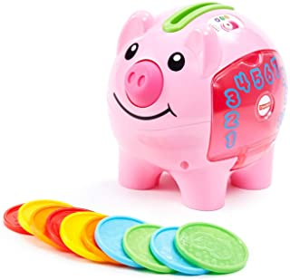 Fisher-Price 费雪 Smart Stages 笑声和学习存钱罐,Cha-ching! 准备好利用娱乐时间和学习来赚钱!