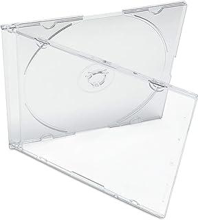 KEYIN 透明超薄 CD 珠宝盒 - 高级,100 包