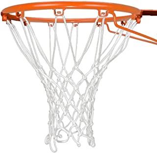 KSh-tt 重型篮球网替换品 - 专业篮球网,适用于室内和室外 - 防鞭厚网适合标准 12 环环环圈
