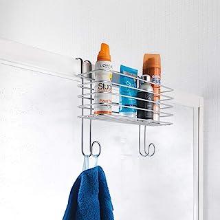 Metaltex Radius 大号收纳篮用于浴室加热毛巾散热器,聚合物涂层