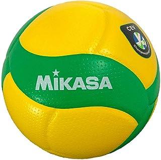MIKASA 排球欧盟官方比赛球 5号 一般大学 黄色/* V200W-CEV 推荐内压0.3(千克f/)