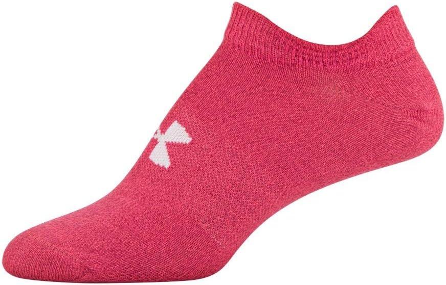 美亚海外购-Under Armour 安德玛 Essential 2.0 女士隐形运动袜6双装