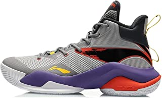 LI-NING Power VII 男式专业篮球鞋衬里云彩+运动鞋运动鞋 ABPQ041