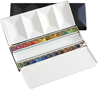 Holbein 固体水彩画具 Artist Pancolor 金属盒 24色套装 PN682 2682