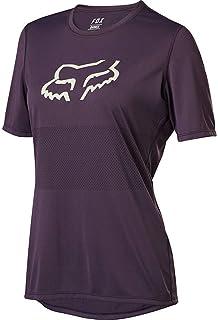 Fox Wmns Ranger Ss Jersey 深紫色