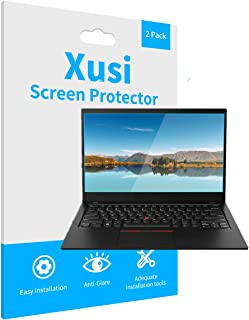 Xusi 屏幕保护膜适用于 Thinkpad T15 /T15p 笔记本电脑防眩光防刮屏幕保护膜 2 件装(15 英寸)
