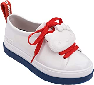 Melissa Hello Kitty 女童鞋 White Blue Red 12 M US 儿童