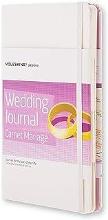 Moleskine Passion 日记本/大码/固定封面带压花/黑色 Wedding Journal Wedding Journal
