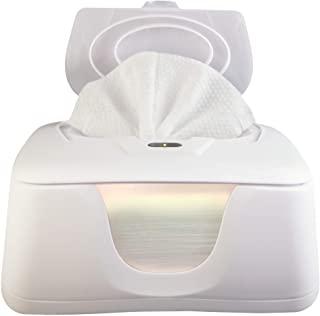 Baby Warmes 加热器和分配器架,4 个 LED 大灯方便夜间更换,双热量为您的宝宝舒适增加,设计经过改进! 仅在 AMAZON 购买!