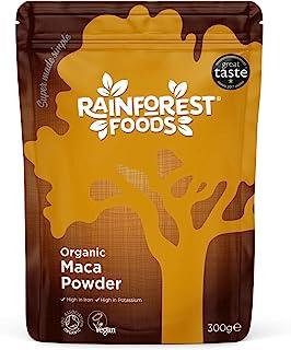 Rainforest Foods Organic Maca 4 Root Powder 300 g