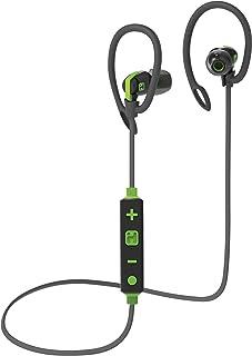 iHome 蓝牙无线防水运动耳机,带麦克风遥控和运动夹,灰色/* (iB79GQC)